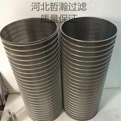 定製不鏽鋼楔形網濾芯