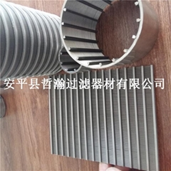 304 316不鏽鋼材質楔形繞絲篩管