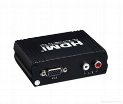 HDMI to VGA+R/L Converter