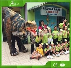 KAWAH Popular Adult Realistic T-Rex Dinosaur Costume for sale