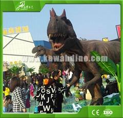 KAWAH  Outdoor Playground Robotic Realistic Animated Dinosaur