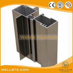 Aluminium Extrusion Profile for Construction Curtain Wall