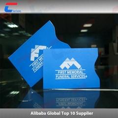 High quality of RFID blocking sleeve credit card protector NFC blocking sleeve
