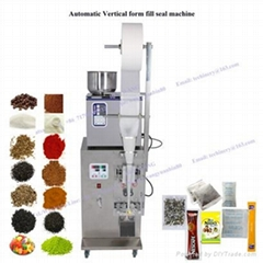 Automatic Vertical Form Fill Seal Sachet Pouch Packing Machine Vffs Tea Coffee S