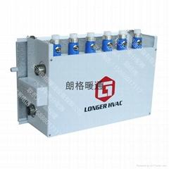 朗格中央空調末端熱熔接頭水力平衡分配器LG2A-LG7A(2路-7路)