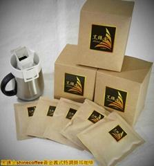 黄金义式特调挂耳咖啡(10入,每包10公克咖啡粉)