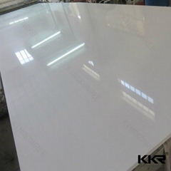 Hot sale white engineered quartz stone slab