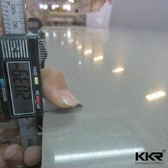 12-30mm thick high quality engineered quartz stone slab