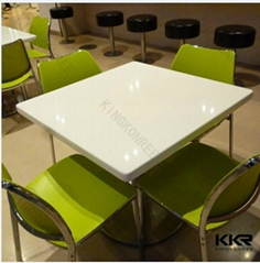 Eco-friendly acrylic solid surface dinning tables