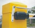 石家莊曲杆道閘停車場收費系統 2