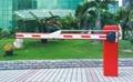 石家莊曲杆道閘停車場收費系統 4