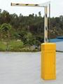 石家莊曲杆道閘停車場收費系統 5