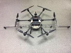 15 L drones agriculture pesticide spray uav with ce rohs fpv