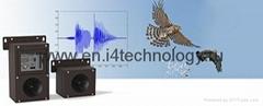 Bio acoustical bird repeller