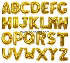 Letter Alphabet Foil balloon Party Decoration A-Z