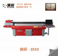 PVC面板彩绘机亚克力广告标识标牌UV平板打印机个性图案印刷机