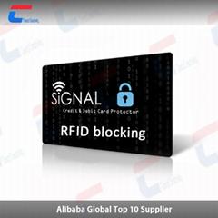 New design of Signal Blocking RFID blocking card