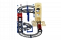 plastic electric diy race track railway toy 2