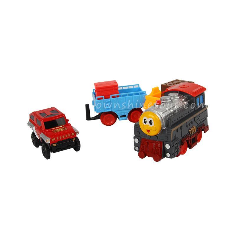 diy thomas train set race railroad toy 2