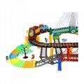 diy thomas train set race railroad toy 5