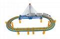 model train building block slot car toy 3