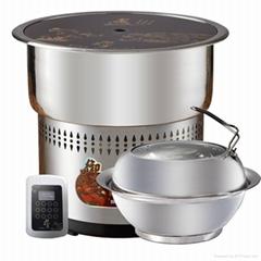 sea food steam hot pot steamer pot