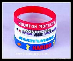 Europe Regional Feature and Folk Art Style glow in dark silicone wristband