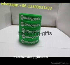 Eco-friendly 100% Custom silicone wristband with debossed logo