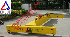 I Shape Semi Automatic Container Spreader Lifting Beam for Loading Container