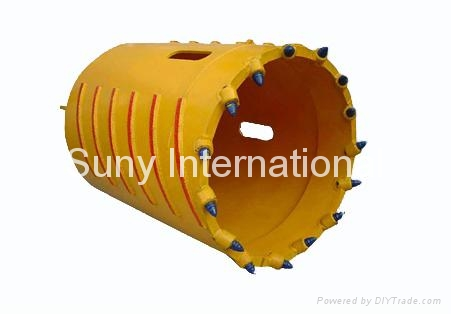 Core Barrel With drilling bits