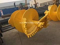 Cohesive Soil/Gravel/Soft Rock Butterfly Drilling Spiral Auger