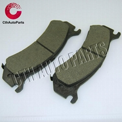 High quality ceramic material brake pads