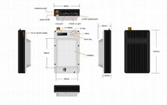 wireless microwave nlos long range uav