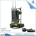 two way radio walkie talkie cofdm backpack wireless video transmitter 4