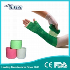 Factory Priced Fiberglass Orthopedic Casting Tape Waterproof Orthopaedic Rehabil