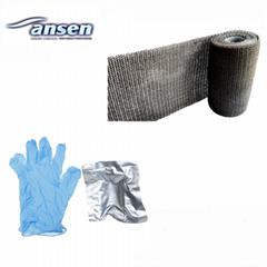Fiberglass Wrap Fix Tape Oil Gas Plumbing Pipe Repair Bandage