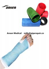 Factory of Orthopedic Fiberglass  Casting Tape For Fracture
