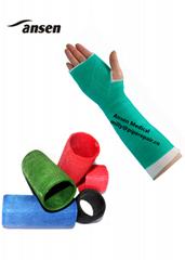 Colorful Medical Orthopedic 5inch Fiberglass Casting Tape