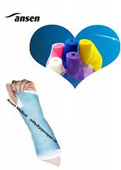 Waterproof  Medical Bandage Orthopedic Fiberglass Casting Tape