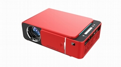 Newest T6  720P home theater phone  portable 3D LED Android projector