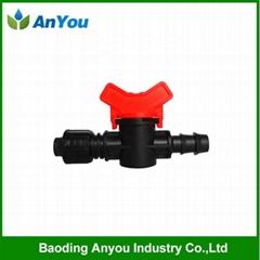 Plastic mini valve for irrigation
