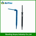 Bend drip arrow for irrigation