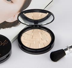 Best Cosmetics Waterproof Face Makeup Compact Powder Illumination Highlighter Po