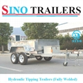 Fully Welded Hydraulic Tipping Tandem Box Trailer 2