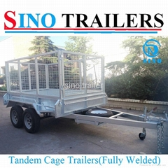 Dual Axle Fully Welded Tandem Cage