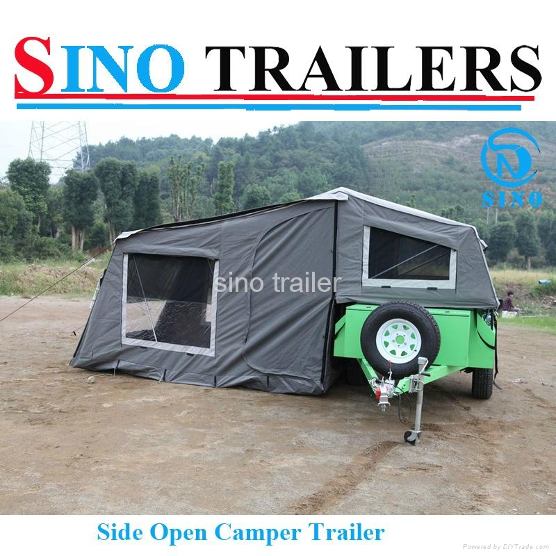 Family use 7*4 Ft Off Road Camper Trailer 1