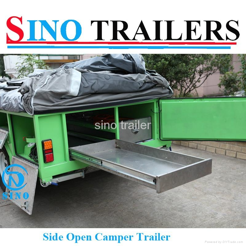 Family use 7*4 Ft Off Road Camper Trailer 2