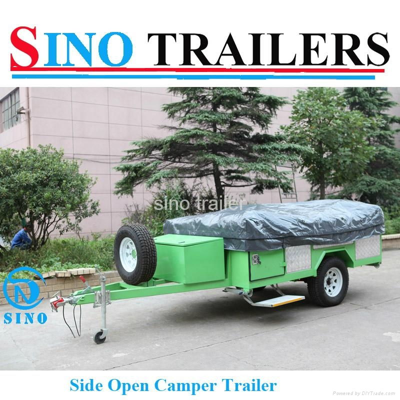 Family use 7*4 Ft Off Road Camper Trailer 4