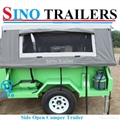 Family use 7*4 Ft Off Road Camper Trailer 5