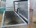 Waterproof Aluminum Trailer Tool Box with Gas Strut 1